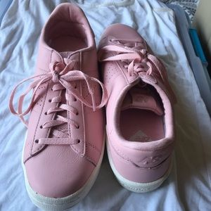 J. Crew New Balance pink leather sneaker - NWB